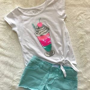 Children's Place Summer Outfit! Size 4!